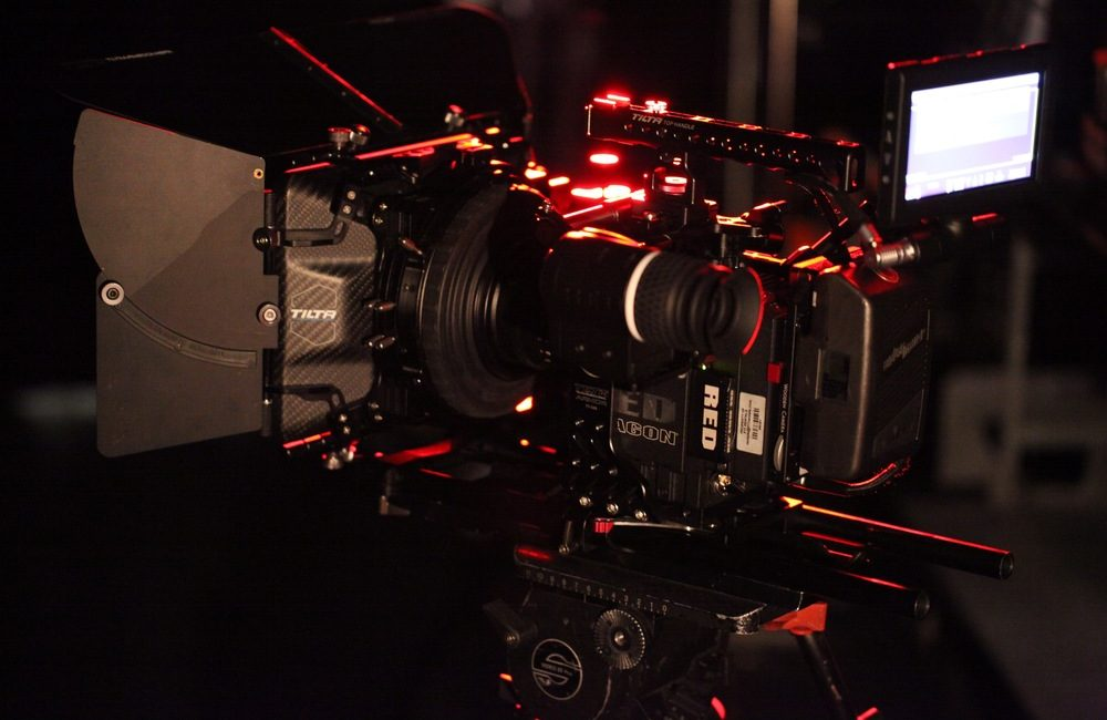 red epic close up