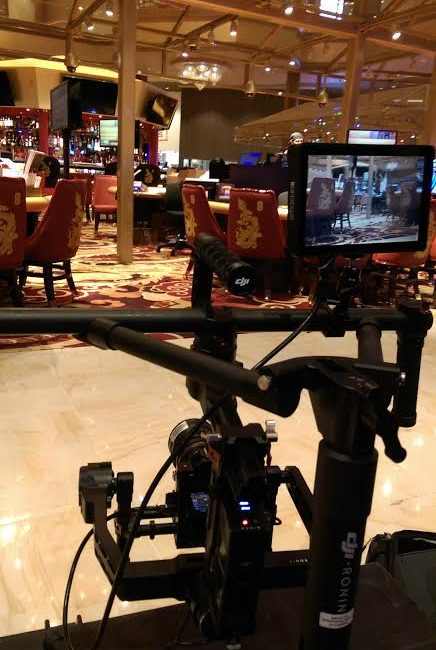 casino floor production