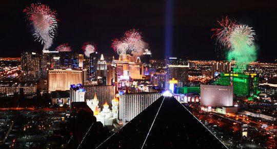 Las Vegas new years