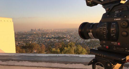 L.A. skyline c300mk2